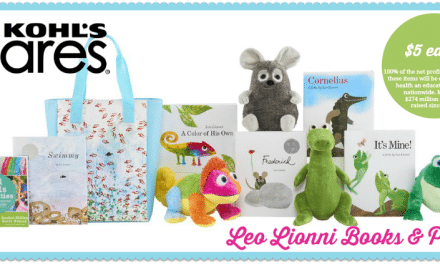 Leo Lionni Books and Plush Toys $5 Each Benefits Kohl's Cares