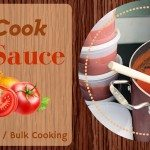 Pasta Sauce:  No-Cook Freezer Cooking Recipe – Makes 38 Cups!