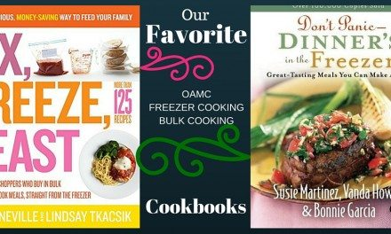 Freezer Cooking: Planning Day Results in some Tried and True & New Recipes