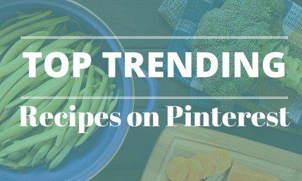 Trending Recipes on Pinterest – February 2016