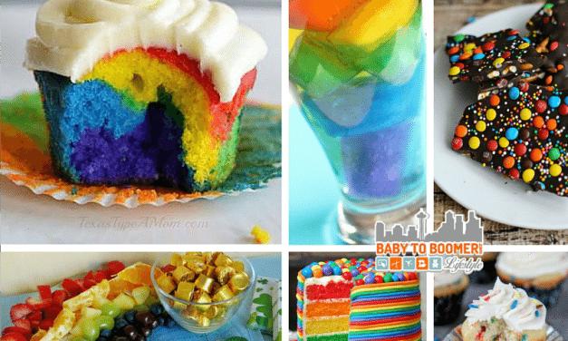 St. Patrick's Day Recipes: Rainbow Treats