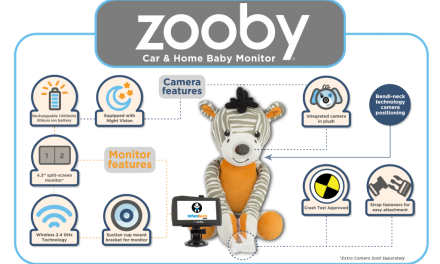 zooby Portable Video Baby Monitor: For Home or On the Go
