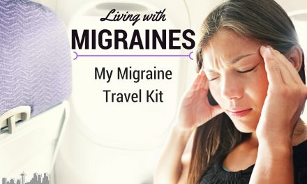 Living with Migraines: My Migraine Travel Kit #MoreToMigraine