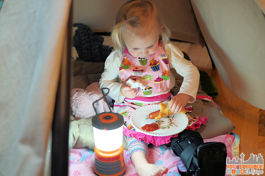 Ball Park Franks - Dinner in the Teepee #TysonLifesanAdventure #ShareIt #ad