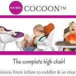 Oribel Cocoon Transitional High Chair – 6 Months to 3 Years