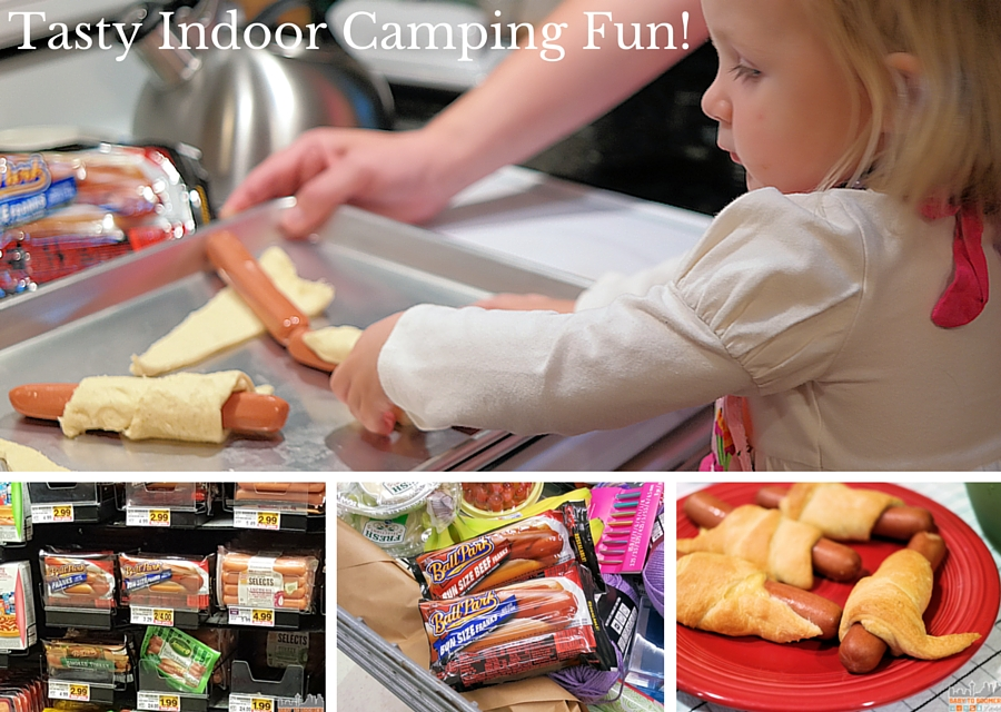 Tasty Indoor Camping Fun